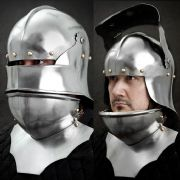 Sallet With Gorget
